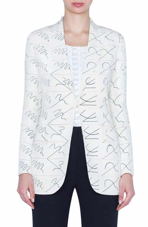 Akris Leporello Print Blazer by AKRIS