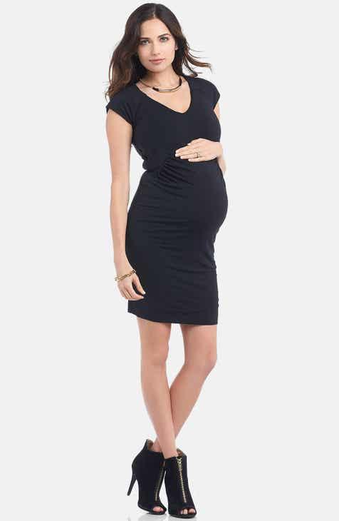 efb357135977 Tart Maternity  Freya  Print Body-Con Maternity Dress