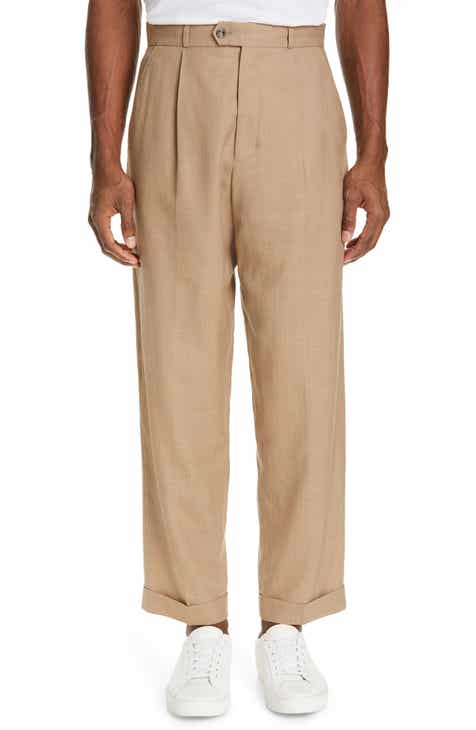 d5fbb6b93616 Editions MR Jean Paul Pleated Wool   Linen Pants