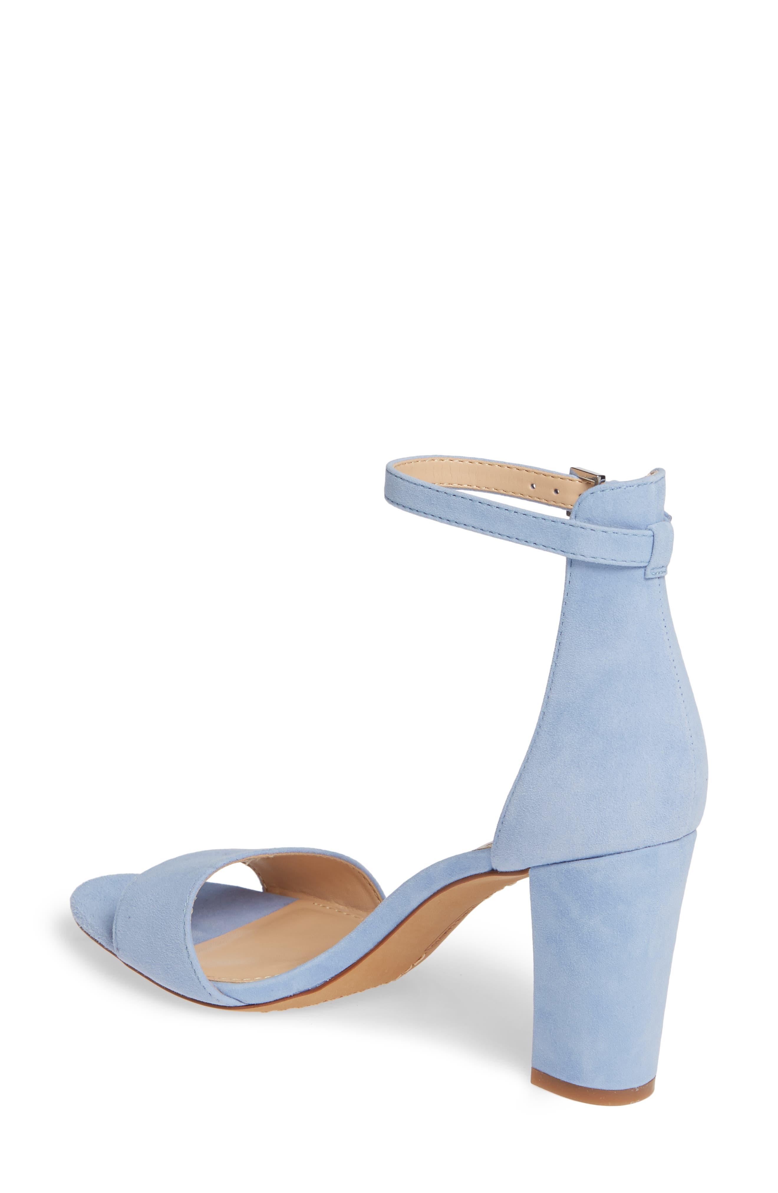 3efffd15bc55 Blue Block-Heel Sandals for Women