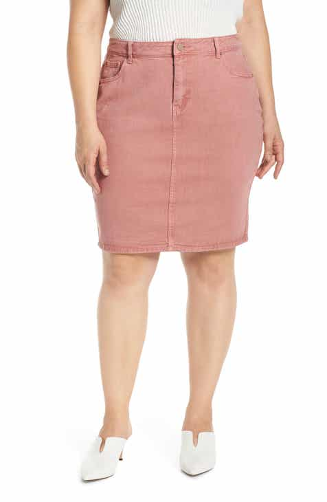 05b561c3e851 LOST INK Pencil Skirt (Plus Size)