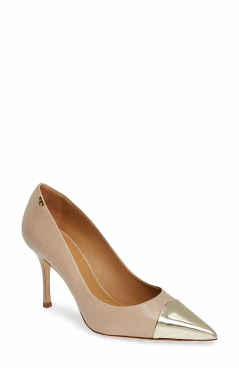 2a8a91a049e4 Tory Burch Penelope Cap Toe Pump (Women)
