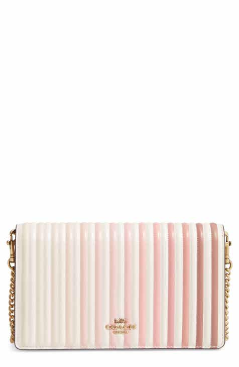 b65663e774 COACH Callie Ombré Quilting Leather Clutch