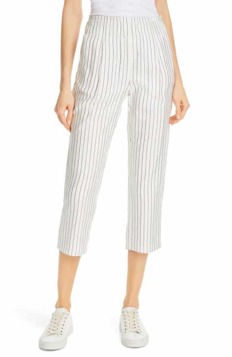 Topshop Summer Stripe Peg Trousers by TOPSHOP