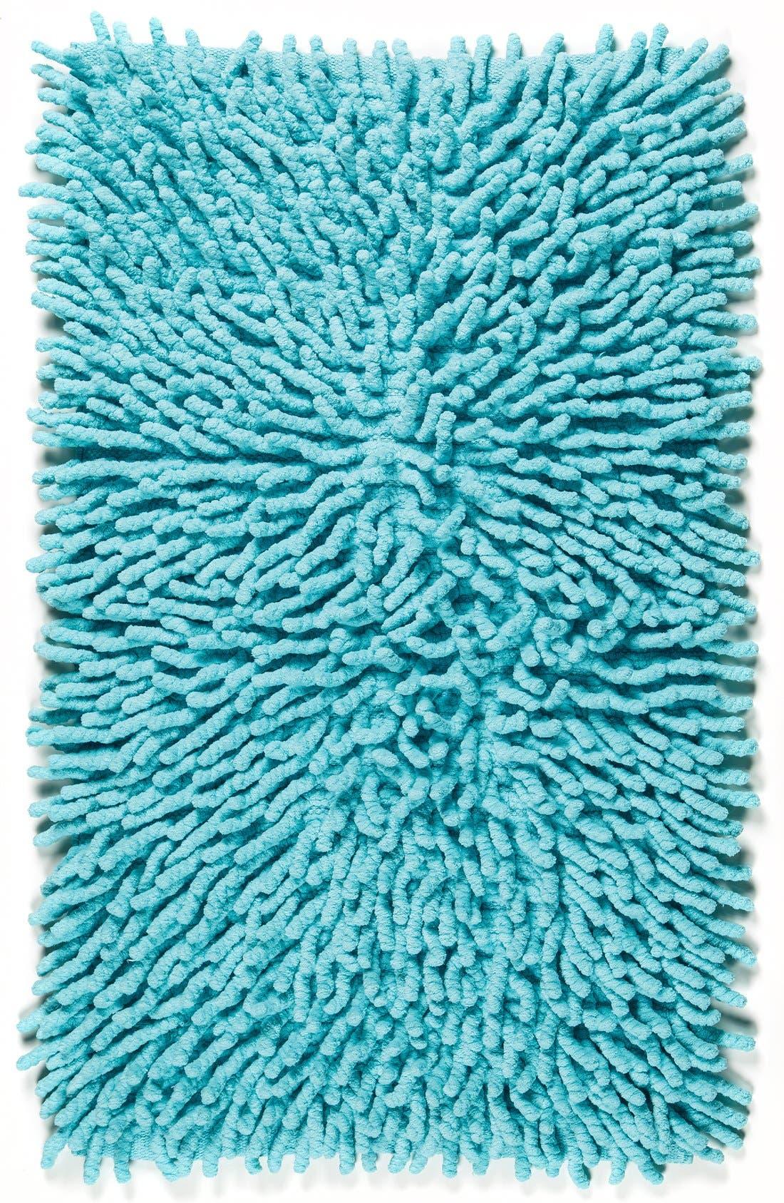 Kassatex Bambini Basics Shag Chenille Cotton Bath Rug