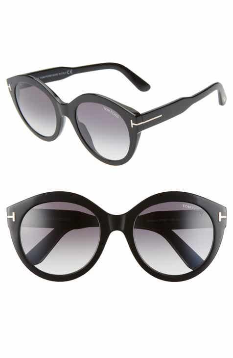 e9da1580dca Tom Ford Rosanna 54mm Round Cat Eye Sunglasses