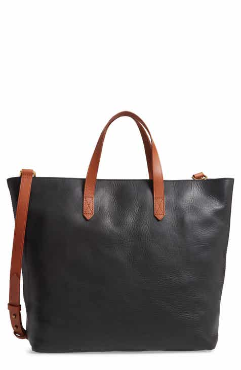 Madewell Zip Top Transport Leather Carryall 8967d90318