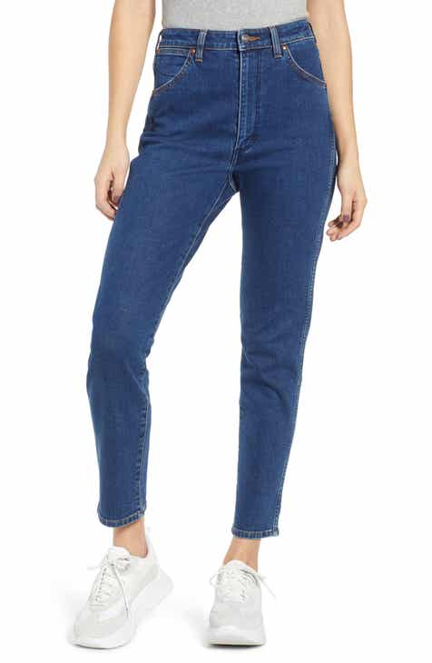 101f2afe444 Wrangler Icons Straight Leg Jeans (6-Month Wash)