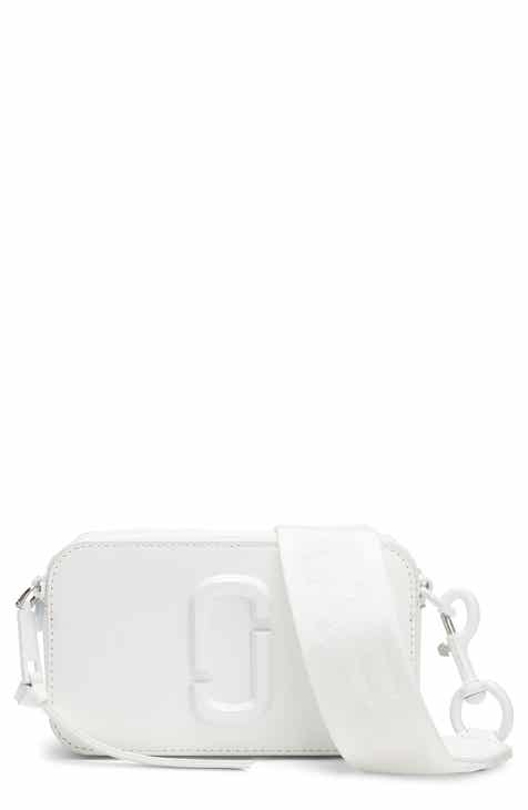 e3b344110bae MARC JACOBS Snapshot Leather Crossbody Bag