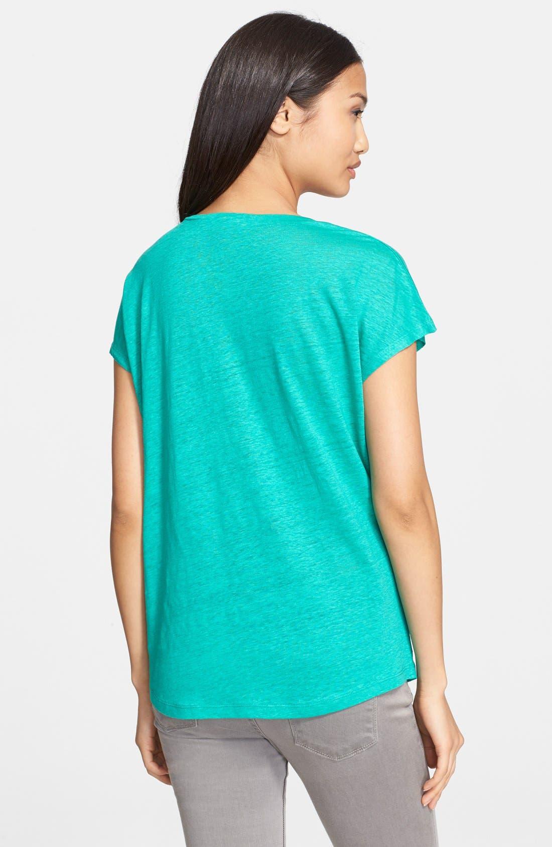Alternate Image 2  - Joie 'Chancey' Linen Top