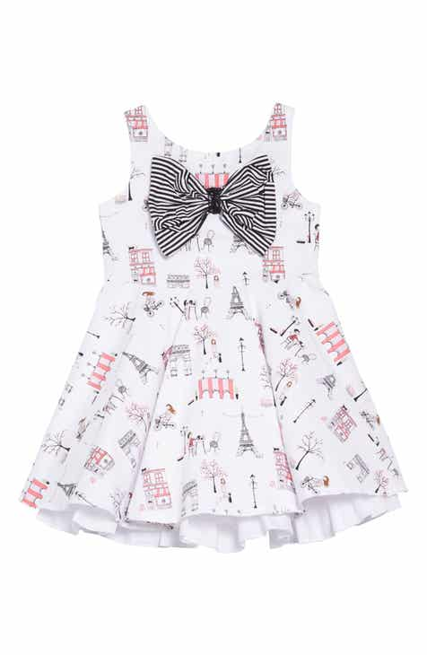 Fiveloaves Twofish Fashionista Fit & Flare Dress (Toddler Girls, Little Girls & Big Girls)
