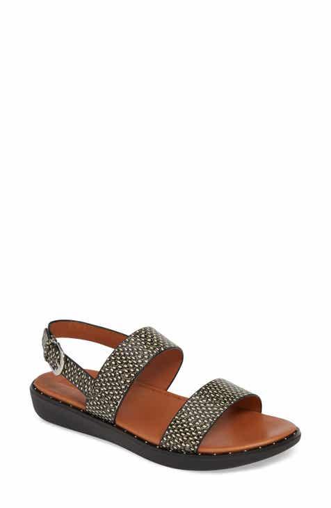 b061a57eaa8bb FitFlop Barra Crystal Embellished Sandal (Women)