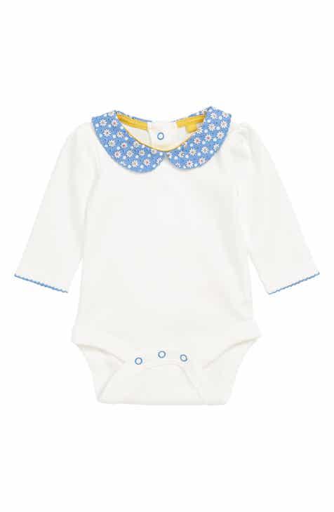 fa53eac17a1e Mini Boden Pretty Peter Pan Collar Bodysuit (Baby)