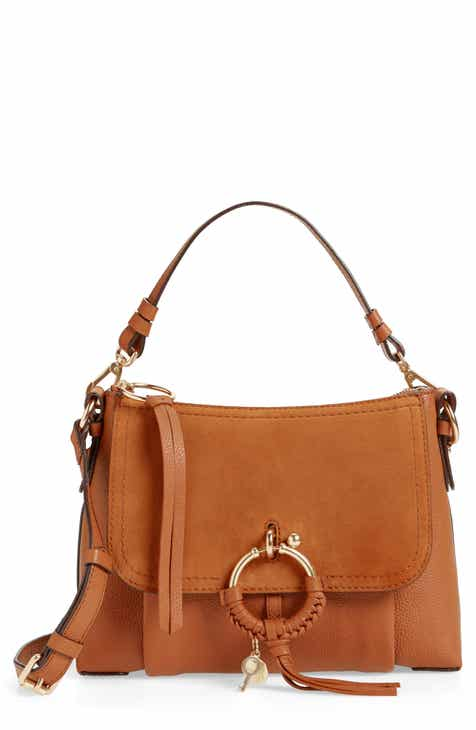 1e671fb490d3 See by Chloé Small Joan Suede   Leather Crossbody Bag