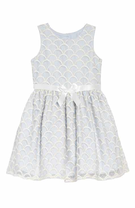 d99269390 Pippa   Julie Embroidered Fit   Flare Dress (Toddler Girls