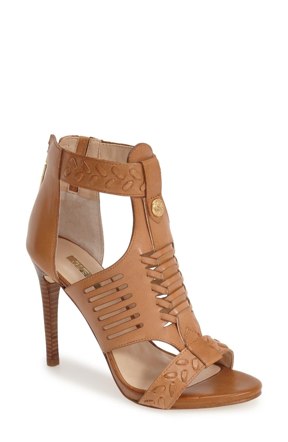 Alternate Image 1 Selected - GUESS 'Corale' Huarache Sandal (Women)
