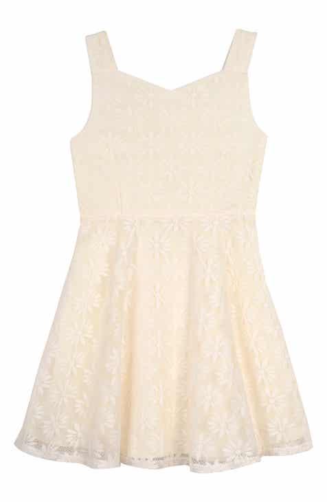 c0ea2eb40224 Pippa & Julie Daisy Mesh Dress (Big Girls)