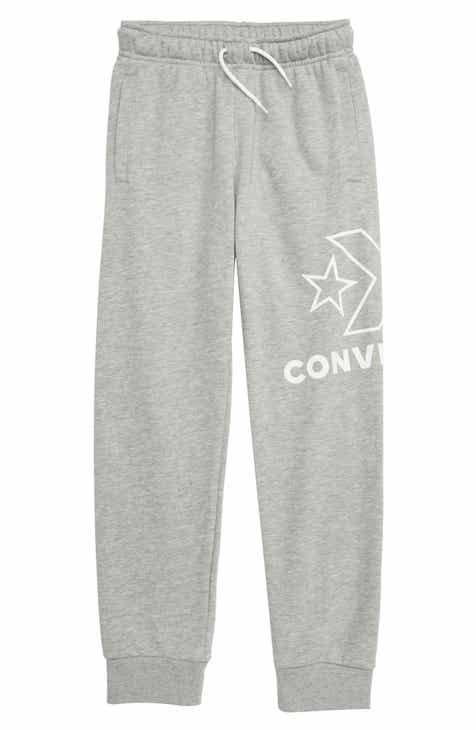 15a77b6d231d62 Converse Logo Graphic Jogger Pants (Big Boys).  35.00. Product Image. CHARCOAL  HEATHER  BLACK