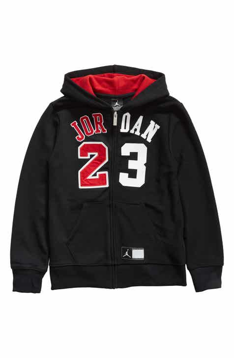 5cdb0b05e024b9 Jordan Flight History Full Zip Hoodie (Big Boys)