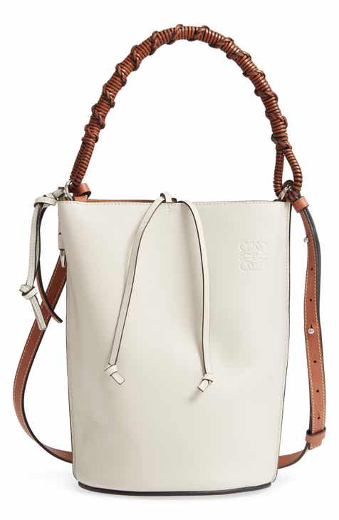 ca33187012 Loewe Gate Leather Bucket Bag