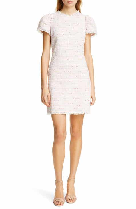 Best  Kate Spade New York Puff Sleeve Tweed Dress Top Reviews