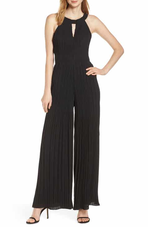 Harlyn Pleated Wide Leg Jumpsuit by HARLYN
