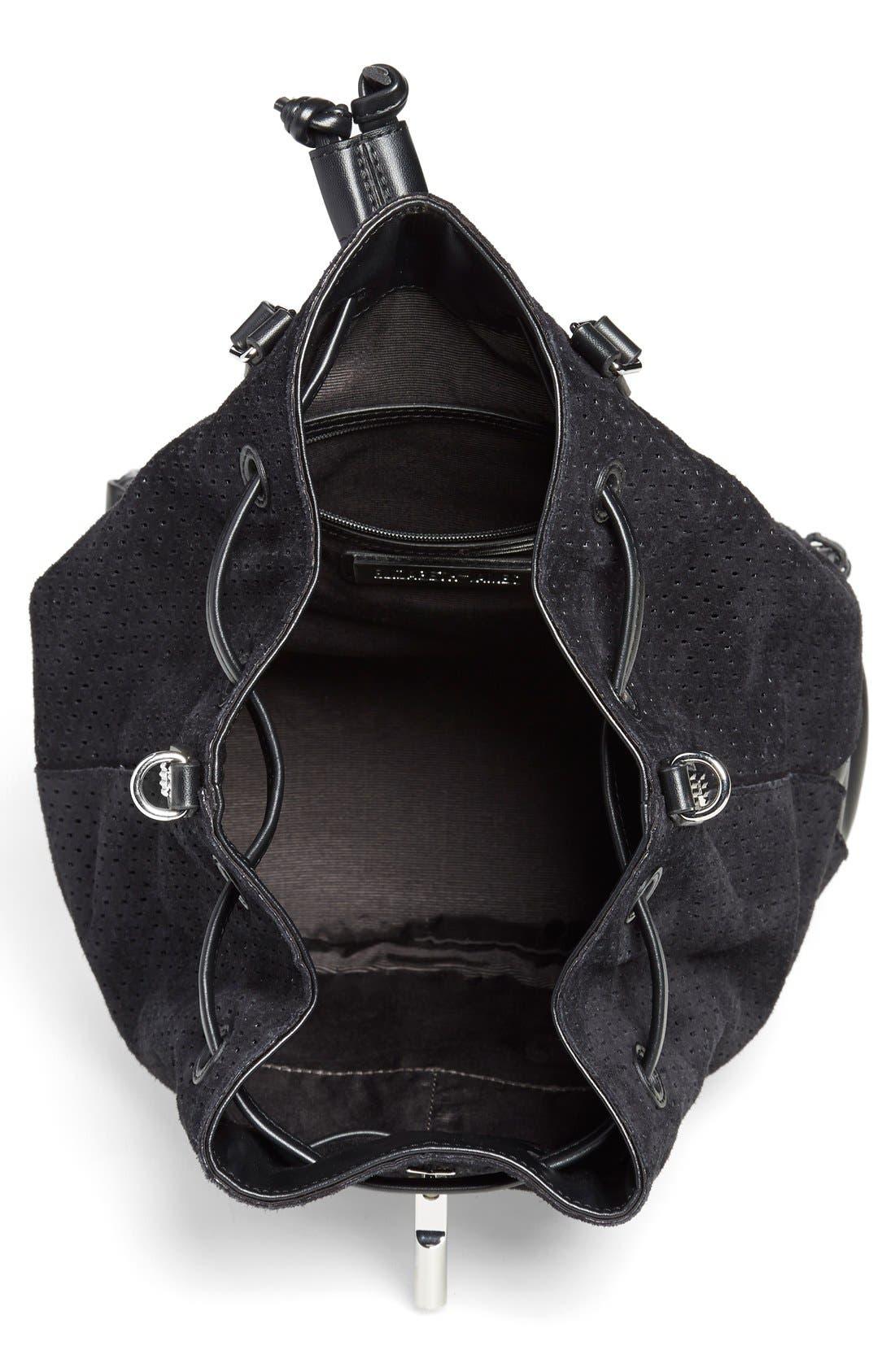 Alternate Image 4  - Elizabeth and James 'Cynnie' Perforated Sling Backpack