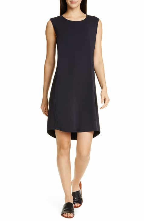 Eliza J Halter Neck Handkerchief Hem Dress by ELIZA J