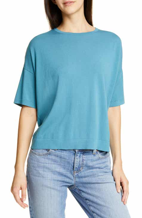 Rosetta Getty Side Panel Rib Sweater by Rosetta Getty