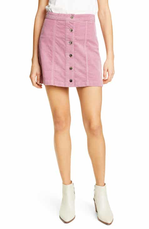 rag & bone Rosie Corduroy Miniskirt by RAG AND BONE