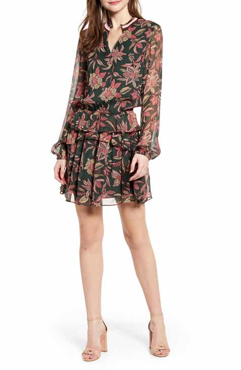 Free People Nicole Long Sleeve Shirtdress by FREE PEOPLE