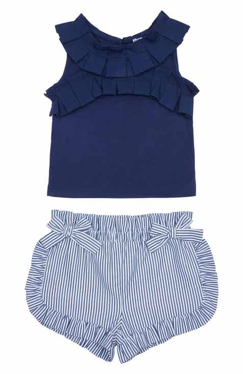 56cd8281c0d54 Habitual Pleated Tank & Shorts Set (Baby)
