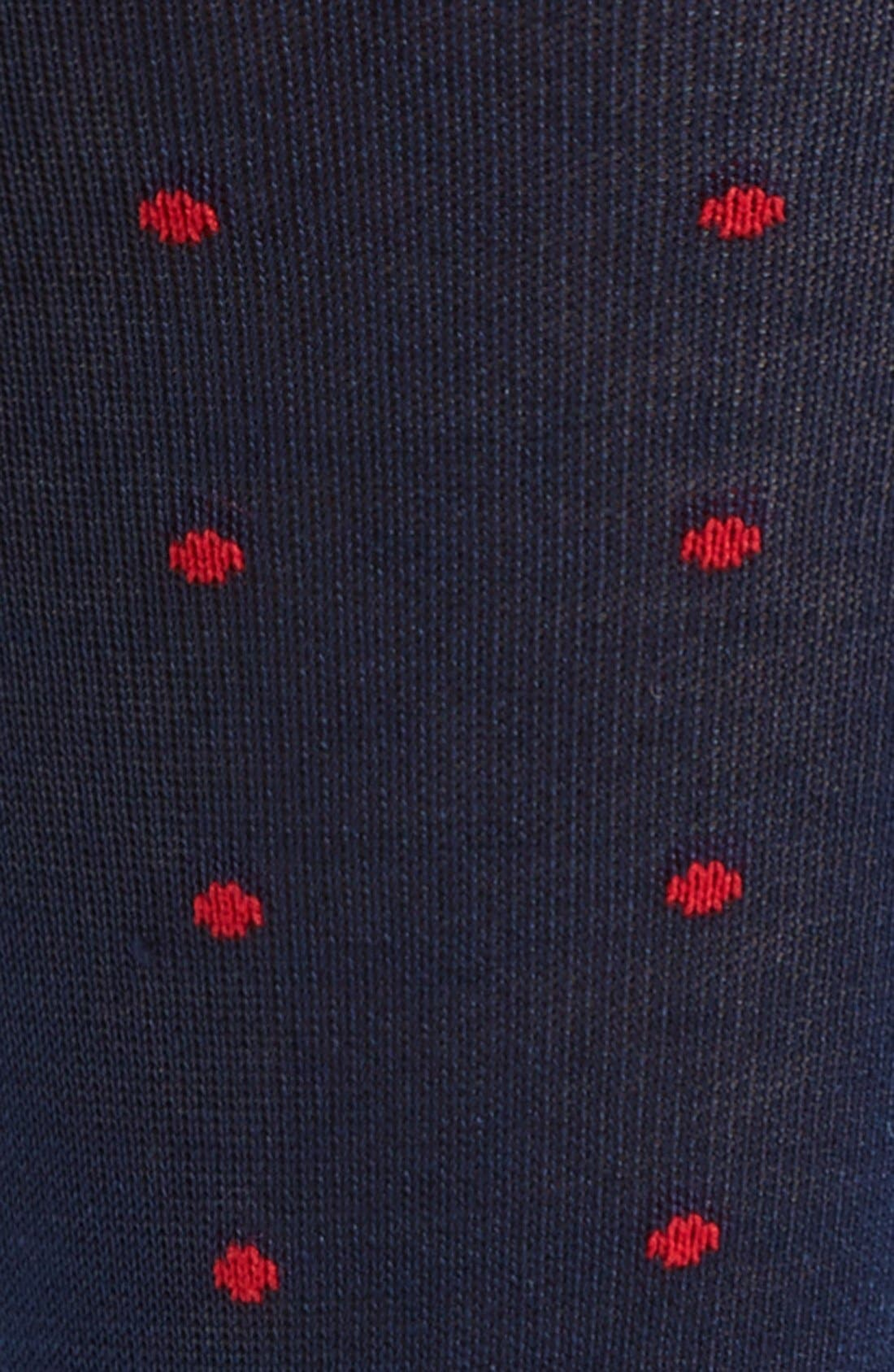 Alternate Image 2  - Polo Ralph Lauren Dot Socks