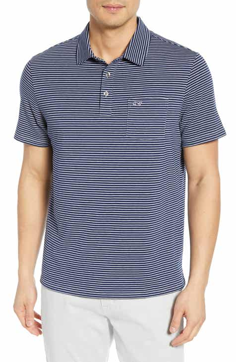 458f69699 vineyard vines Shep Stripe Edgartown Polo Shirt
