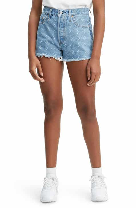 6dd37b15220 Levi s® 501® High Waist Cutoff Denim Shorts (Dottie Blues)