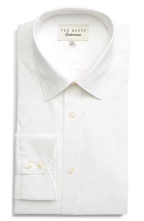67ca7c843 Ted Baker London Endurance Goldsh Slim Fit Geometric Dress Shirt