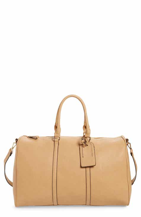 Sole Society  Lacie  Faux Leather Duffel Bag 834a5a585aad9