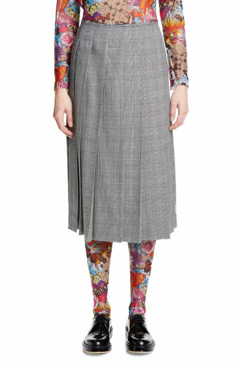 sandro Agatha Snap Front Tweed Skirt by SANDRO