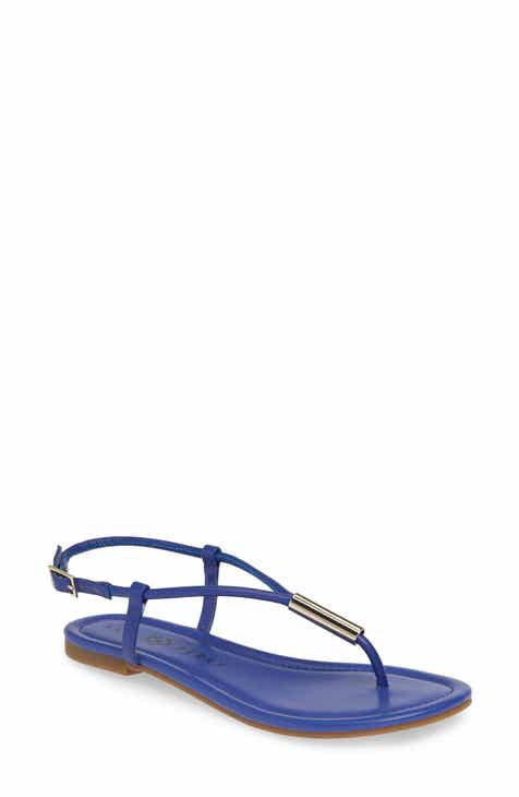 ab8ade0f345 Blue Ankle Strap Sandals for Women