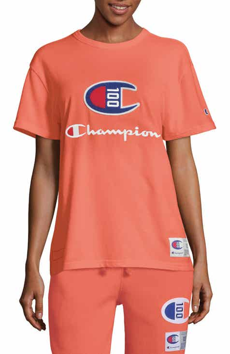 Champion Century Collection Logo Tee by CHAMPION