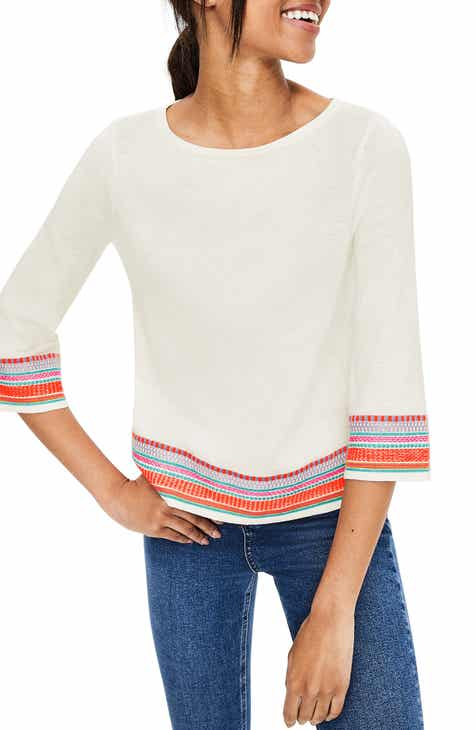 Boden Colette Embroidered Sweater by BODEN