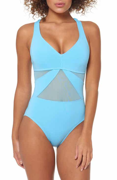 bef1ebbfe1 BLEU by Rod Beattie Strappy Back One-Piece Swimsuit