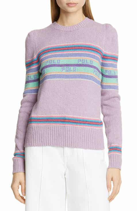 545c5d6b0 Polo Ralph Lauren Puff Sleeve Stripe Sweater