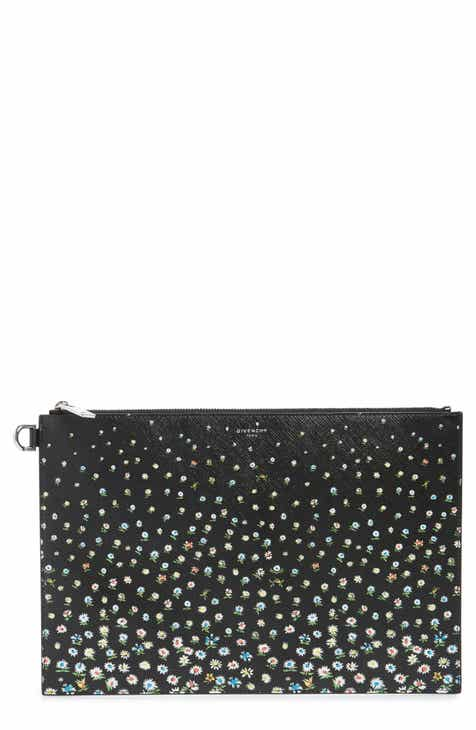 4420bc1f8c62 Givenchy Medium Iconic Coated Canvas Pouch