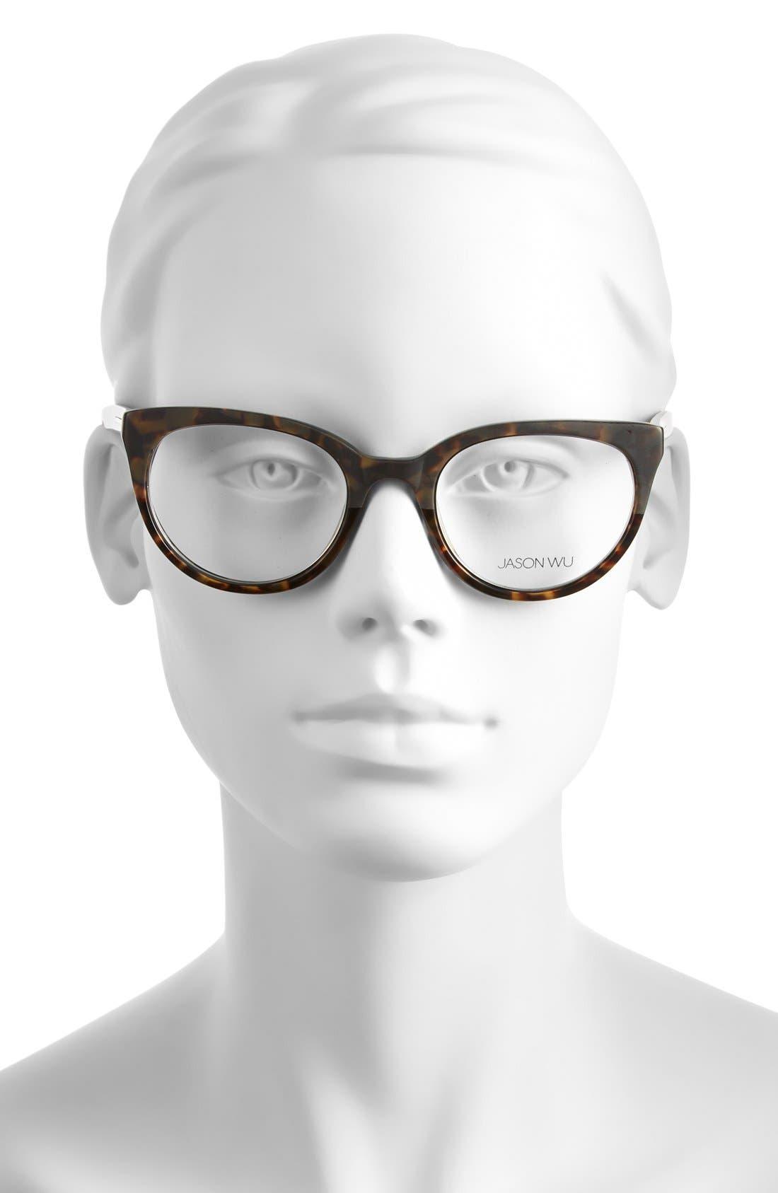 Alternate Image 2  - Jason Wu 'Patrice' 50mm Optical Glasses
