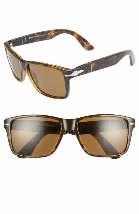 abdba52f6378a Persol 58mm Polarized Rectangle Sunglasses