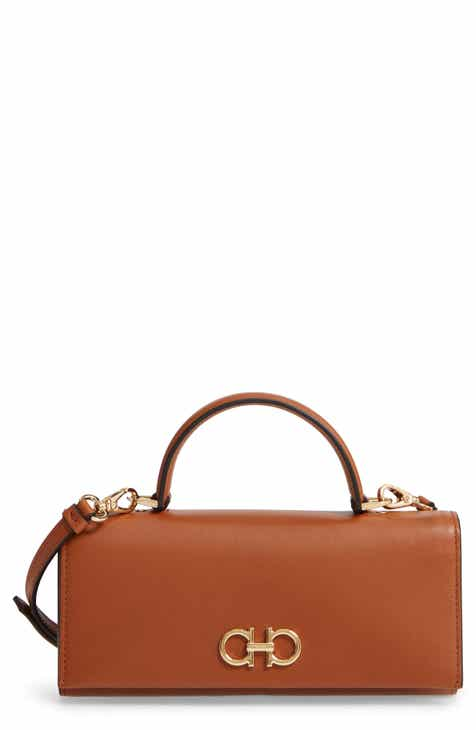 Salvatore Ferragamo Mini Gancini Calfskin Leather Top Handle Wallet ff7881595e1d1