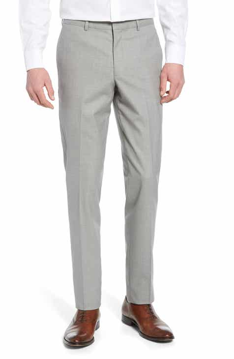 aebfa27d5 Nordstrom Men s Shop Tech-Smart Trim Fit Stretch Wool Travel Trousers