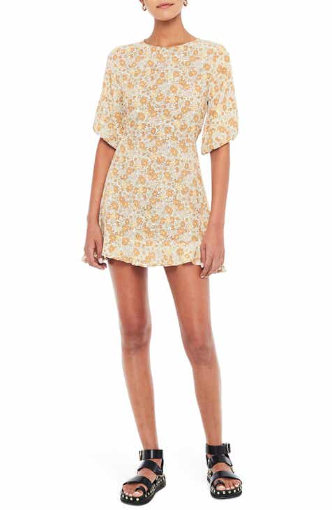 cd52baea10321 FAITHFULL THE BRAND Jeanete Floral Minidress