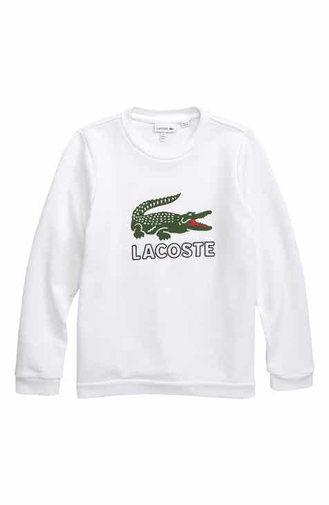 ba36bba1e Lacoste Vintage Logo Sweatshirt (Big Boys)